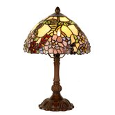 32cm Tiffany One Light Table Lamp