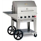 "30"" Natural Gas Grill On Cart"