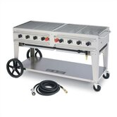 "60"" Rental Grill Single Inlet"