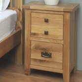 Aylesbury 2 Drawer Bedside Table