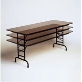 Adjustable Height Melamine Folding Tables
