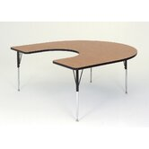 Horseshoe Activity Table with Short Legs