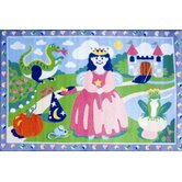 Olive Kids Happily Ever After Princess Kids Rug