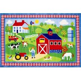 Olive Kids Country Farm Kids Rug