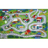 Fun Time Country Road Kids Rug