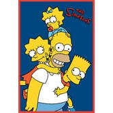 The Simpsons Homer and Kids Rug