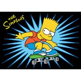 The Simpsons SK8 PRO Kids Rug