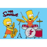 The Simpsons Rock Stars Kids Rug