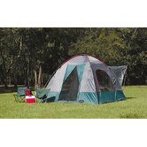 The Lodge SUV Square Dome Tent in Alpine Green / Steel Gray / Chile Pepper