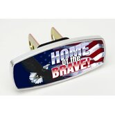 HitchMate Home of the Brave Premier Series Hitch Cap