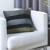 Curtina Newton Single Cushion Cover in Black