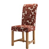 Chicago Kensington Floral Terracotta Chair