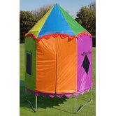 Multi-Colored Circus Trampoline Tent