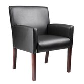 Caressoft Reception Box Arm Chair with Optional Side Tables