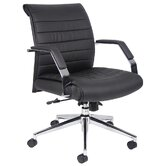Mid-Back Executive Chair with Arms