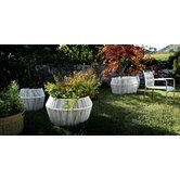 Loop Planter in White