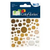 Colorstories Epoxy Color Spots Stickers (Set of 50)