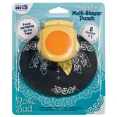 Multi-Shaper Rose Bud Magnetic Punch