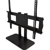 "Single Monitor Tabletop Stand  for 32"" to 55"" Screens"