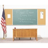 Combination Chalk and Bulletin Board - Type F