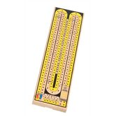 Multi-Colored Two Track Cribbage