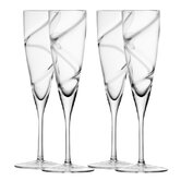 LSA Malika Champagne Flute - Set of 4
