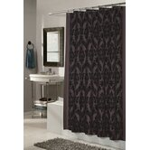 Regal 100% Polyester Fabric Shower Curtain with Flocking