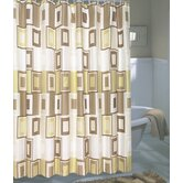 Contempo Extra Wide Fabric Shower Curtain