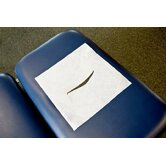 Chiropractic Headrest Papers with Face Slot in White