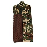 Green Camo Diaper Stacker