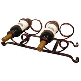 Full Moon 4 Bottle Tabletop Wine Rack