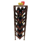 Industrial Evolution 15 Bottle Wine Rack