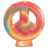 Girly Chic Double Sided Tie Dye Table Peace Sign