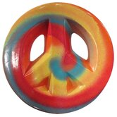 Girly Chic Tie Dye Wall Peace Sign