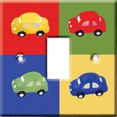 Four Cars Switch Cover