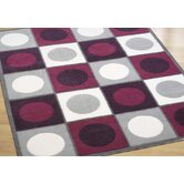 BTC Purple Circle Rug