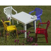 Aladino Kiddy Table with Ariel Kiddy Chairs