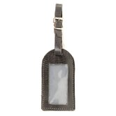 Full-grain Leather Luggage Tag