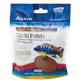 Cichlid Color Pellets Fish Food - 4.5 Ounce