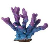 Design Elements Purple Brush Coral Aquarium Ornament