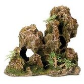 Design Elements Weathered Rock Aquarium Ornament