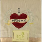 Saying Blanket Crib Throw in Cream - I Heart Mommy