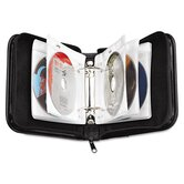 CD/DVD Expandable Binder, Holds 24 Disks