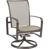 Sterling Swivel Dining Arm Chair