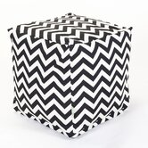 Zig Zag Cube Ottoman