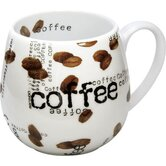 Coffee Shop Snuggle Coffee Collage Mug Set of 4