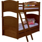 Cooley Twin over Twin Bunk Bed with Trundle