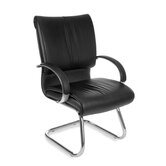 Sharp Executive Series Leather Guest Chair