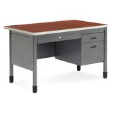 Executive Series Teacher's Computer Desk with Center Drawer