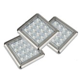 LED Unterbauleuchte in Nickel matt (3er Pack)